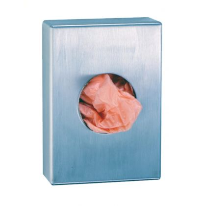 Bobrick Surface-Mounted Sanitary Disposal Bag Dispenser | Commercial Washrooms