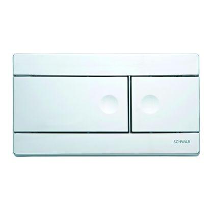 FluidMaster Schwab Line Dual Flush Plate