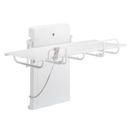 Pressalit 1000 Series Shower and Nursing Table with Electric Height Adjustment | Commercial Washrooms