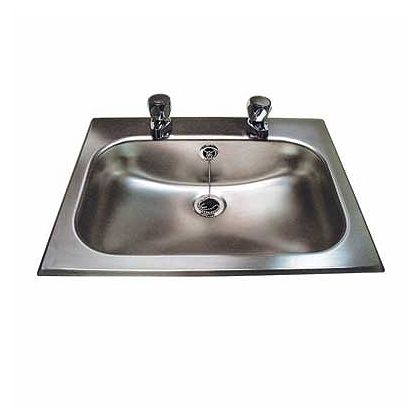 Twyford Inset Vanity Bowl with Overflow