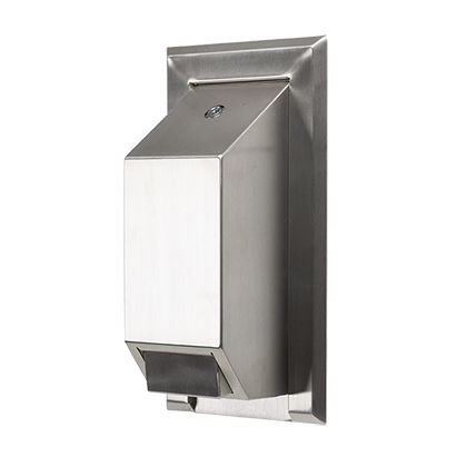 Stainless Steel Anti Ligature & Vandal Resistant Soap Dispenser