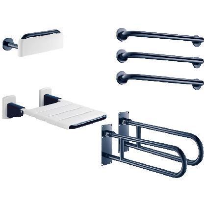Blue Delabie Basic Disabled Shower or Changing Room Pack
