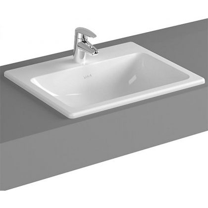 Vitra S20 Square Inset Wash Hand Basin   Commercial Washrooms