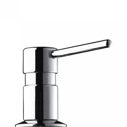 Delabie Liquid Counter Mounted Soap Dispenser with Straight Spout