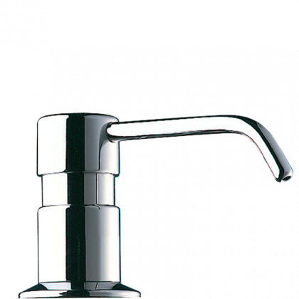 Delabie Liquid Counter Mounted Soap Dispenser with Curved Spout