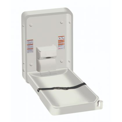 ASI Vertical Plastic Baby Changing Station