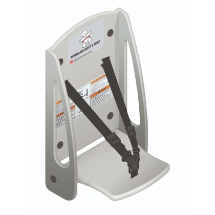 ASI Panel Mounted Plastic Toddler Safety Seat | Commercial Washrooms