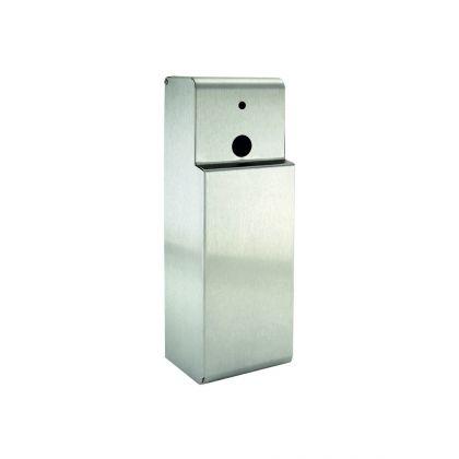 Brushed Stainless Steel Air Freshener 270ml Dispenser