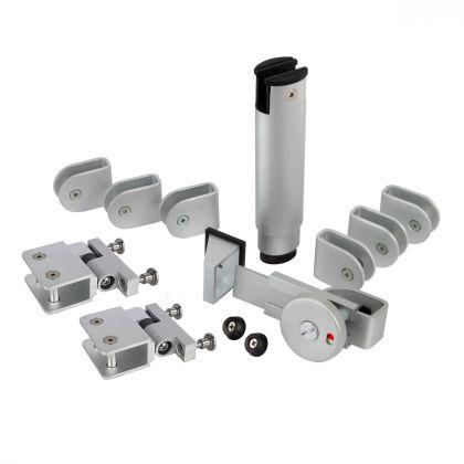 Aluminium Cubicle Hardware Pack | Commercial Washrooms