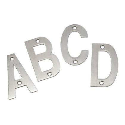 Alphabet Stainless Steel Door Signs