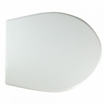 Twyford Alcona White Toilet Seat and Cover – Soft Close