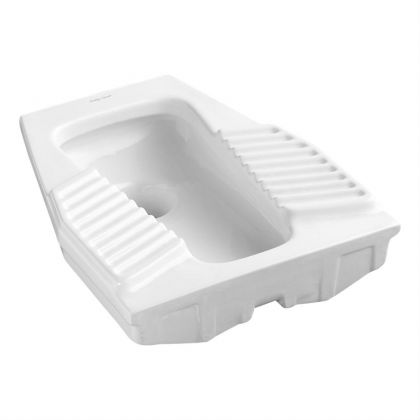 Armitage Shanks Andria 2 squatting toilet bowl with horizontal outlet