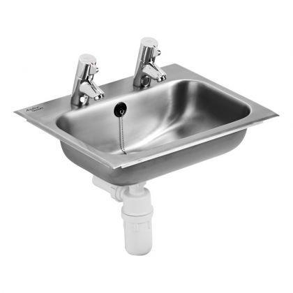Armitage Shanks S2628 Berwick 2 stainless steel countertop bowl