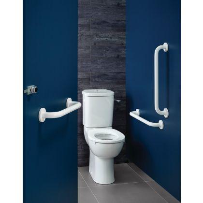Armitage Shanks Doc M Contour 21+ Ambulant Care Close Coupled Toilet Pack