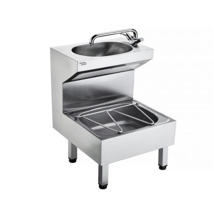 HBN 00-10 HTM64 (JU) Janitorial Sink Stainless Steel Unit | Commercial Washrooms
