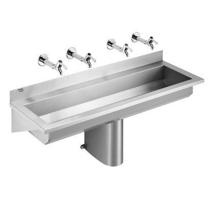 Armitage Shanks Calder 120/180/240cm Stainless Steel Washing Troughs