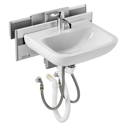 Armitage Shanks Care Plus Manual Washbasin - Vertical and Horizontal Adjustment