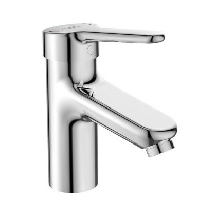 Armitage Shanks Contour 21+ Single Lever Basin Mixer with Copper Tails - No Waste | Commercial Washrooms