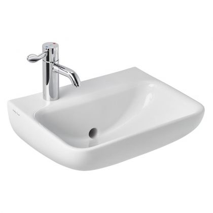 Armitage Shanks Contour 21+ 40/50cm Back Outlet Washbasin with Anti-microbial Glaze | Commercial Washrooms