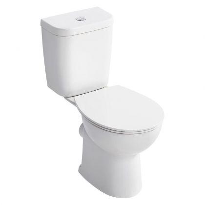 Armitage Shanks Sandringham 21 Smooth Close Coupled Toilet (E8221)