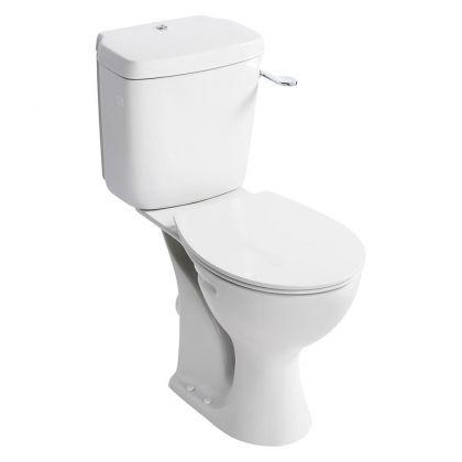 Armitage Shanks Sandringham 21 Raised Height Close Coupled Toilet (E883401)