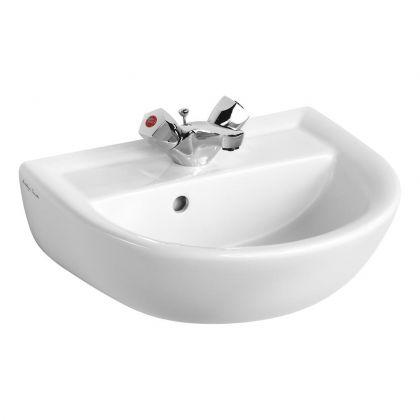 Armitage Shanks Sandringham 21 45cm Handrinse Washbasin 1 Taphole with Overflow | Commercial Washrooms