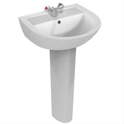 Armitage Shanks Sandringham 21 50cm Washbasin with 1 Taphole and Overflow | Commercial Washrooms