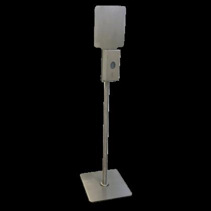 B-2000 Bobrick Stainless Steel Floor Standing Hand Sanitiser Dispenser