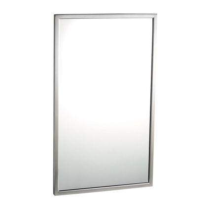 Bobrick Tempered Glass Welded-Frame Mirror