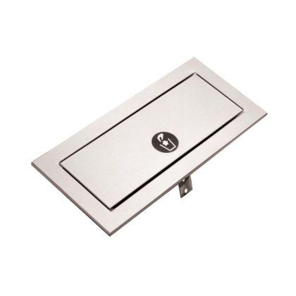 Bobrick TrimLineSeries Countertop-Mounted Waste Door | Commercial Washrooms