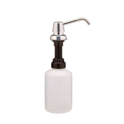 Bobrick 600ml Counter-Mounted Soap Dispenser with 100mm Spout | Commercial Washrooms