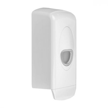 Dolphin Plastic Refillable Dispenser - 1ltr - Lotion Soap | Commercial Washrooms