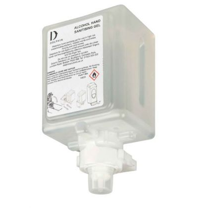 Dolphin Alcohol Gel Cartridges (6 x 1L) | Commercial Washrooms