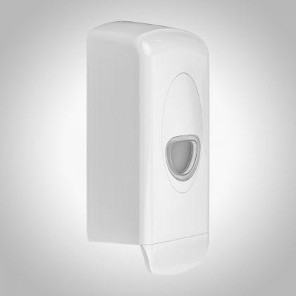 Dolphin Plastic Refillable Cartridge Soap Dispenser - 1ltr