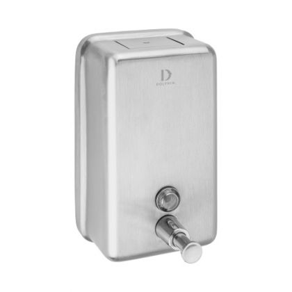 Dolphin Vertical Stainless Steel Soap Dispenser