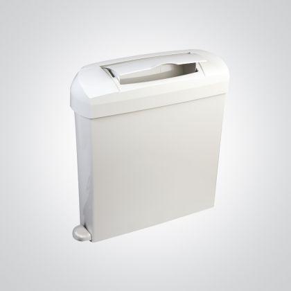 Dolphin White Plastic Sanitary Bin
