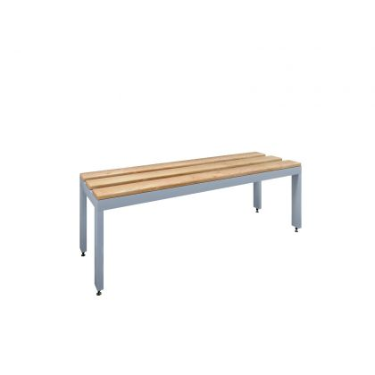 Freestanding Changing Room Bench Seat with Ash Slats