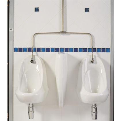 White Ceramic Urinal Bowl (Exposed Cistern)
