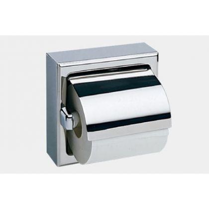 Bobrick Toilet Tissue Dispenser with Hood - Polished