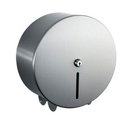 Brushed Jumbo Toilet Roll Holder