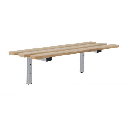 Value Cantilever Wall Mounted Changing Room Bench Seat
