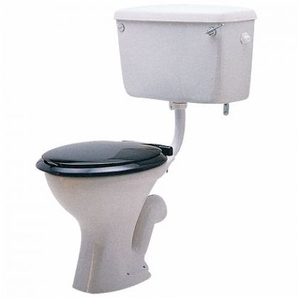 Twyford Classic Low Level Toilet Pan with Choice of Trap