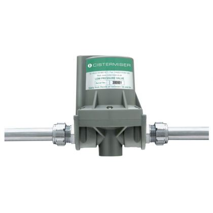 Cistermiser Low Pressure Hydraulic Urinal Flush Control Valve