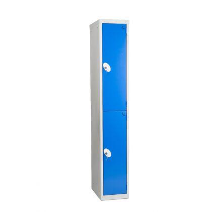 Metal Two Door Changing Room Locker | Commercial Washrooms