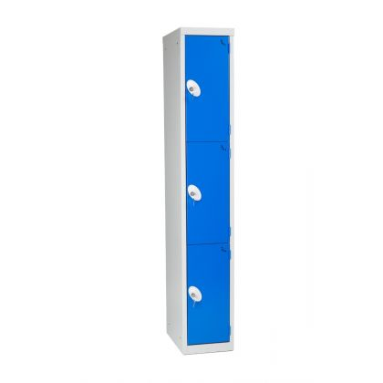 Metal Three Door Changing Room Locker | Commercial Washrooms