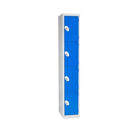 Metal Four-Door Changing Room Locker | Commercial Washrooms
