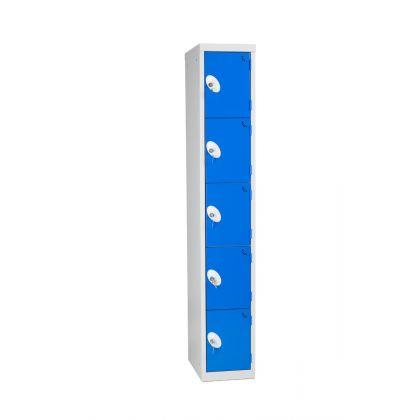 Metal Five Door Changing Room Locker  |Commercial Washrooms