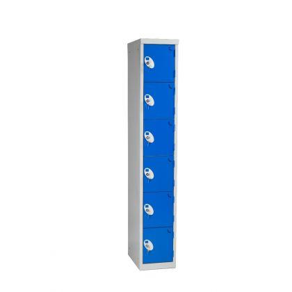 Metal Six Door Changing Room Locker | Commercial Washrooms
