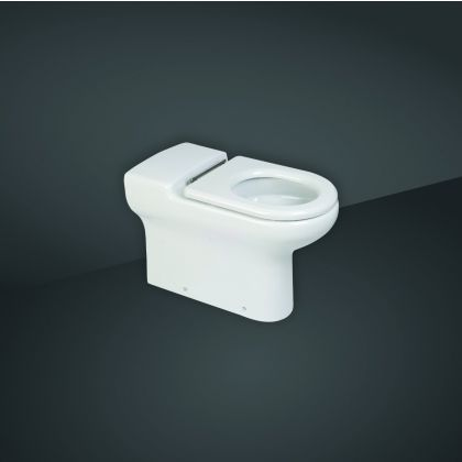 RAK-Compact Special Needs Rimless Back to Wall Toilet - 70cm or 75cm Projection | Commercial Washrooms