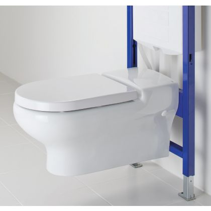 RAK-Compact Special Needs Extended Projection Rimless Wall Hung Toilet